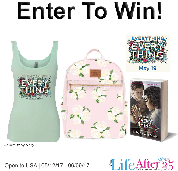 Everything everything giveaway