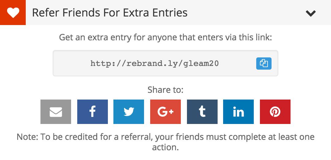 Rebrandly in Viral Share links