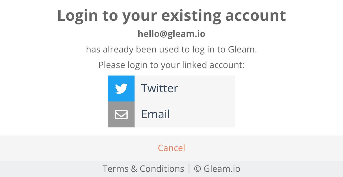 """Gleam"