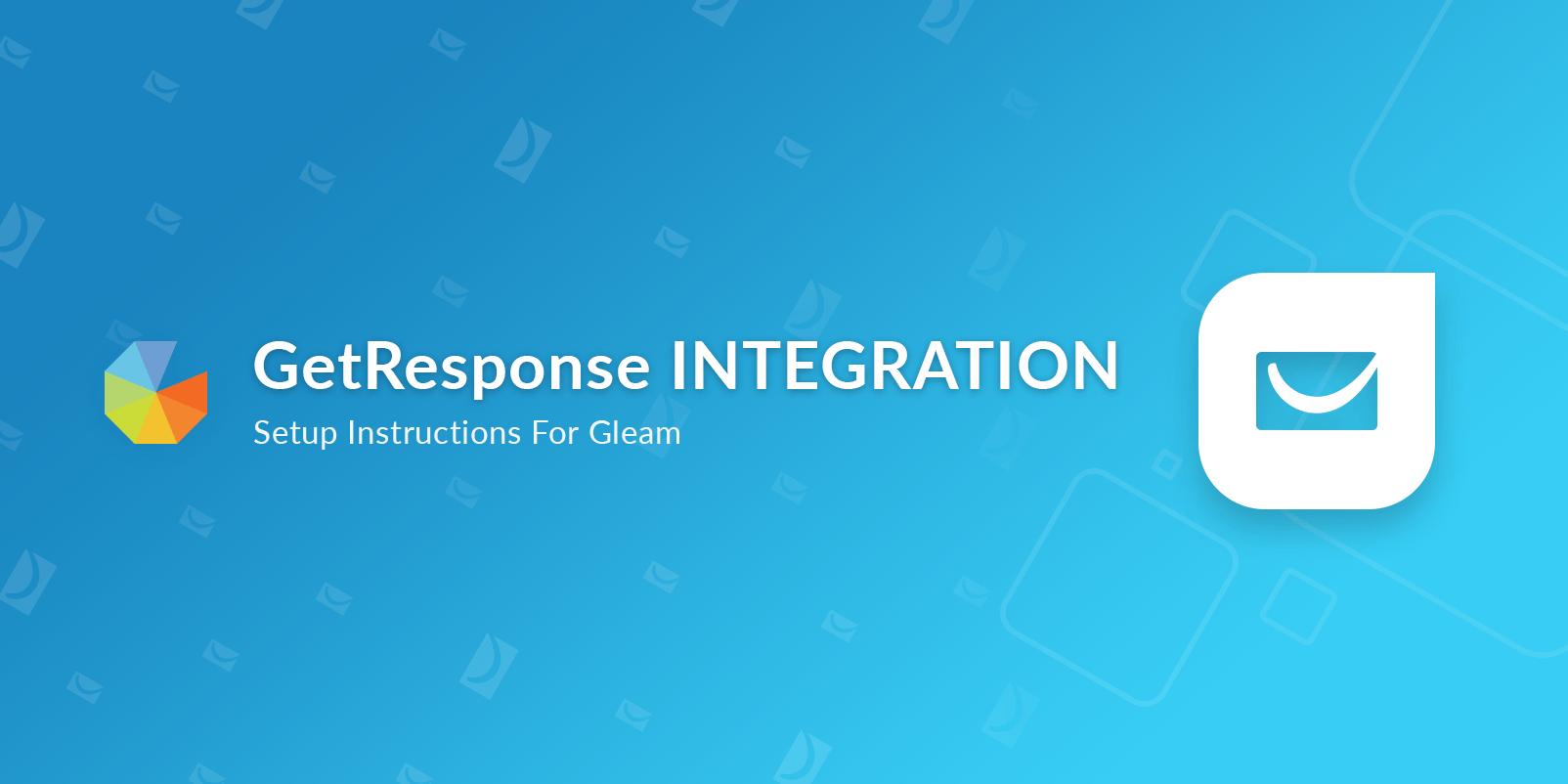 gleam getresponse integration