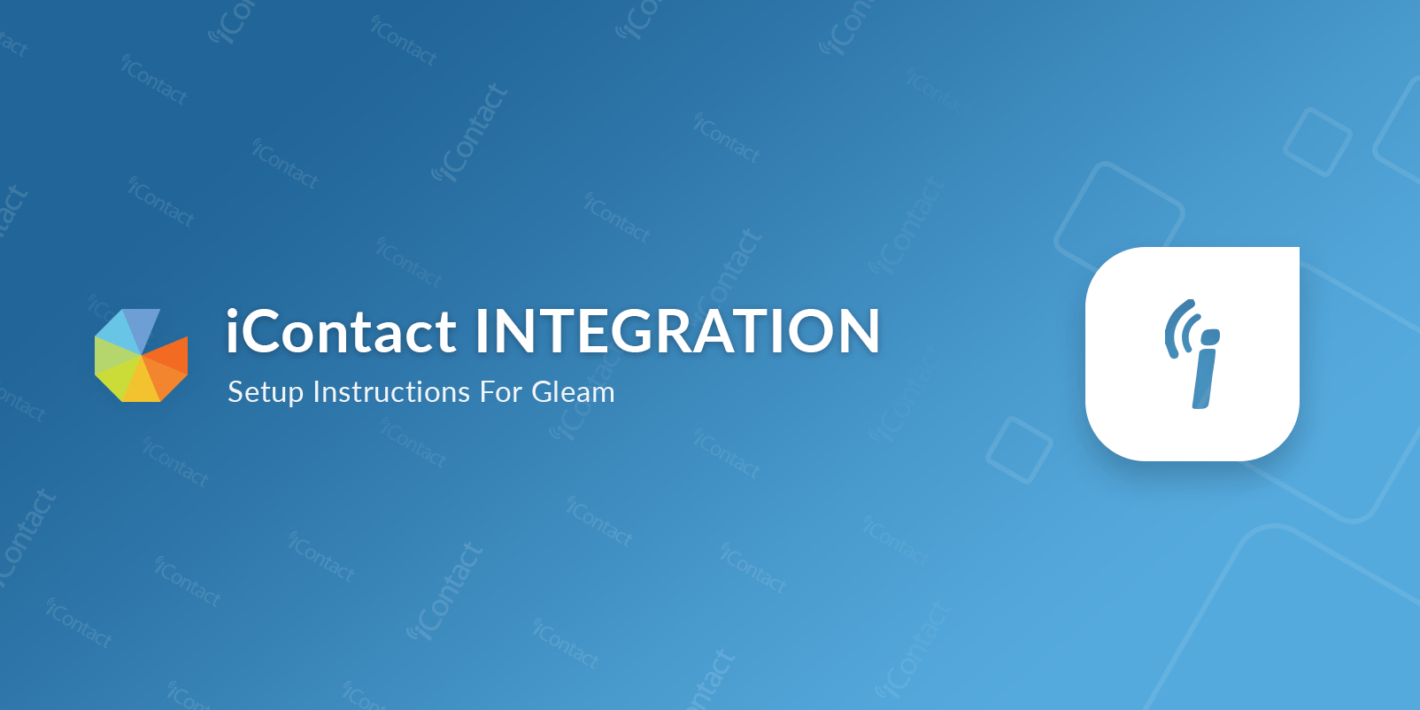 Gleam iContact Integration