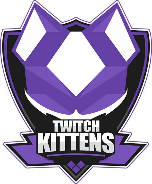 Twitch kittens logo
