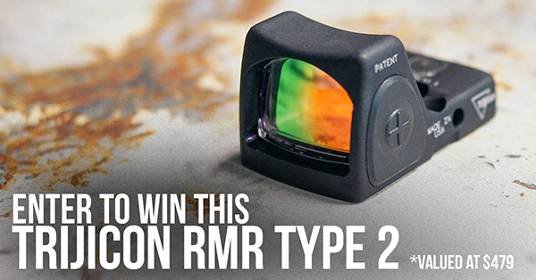 Win a Trijicon RMR Type 2 sight worth $479 Giveaway Image