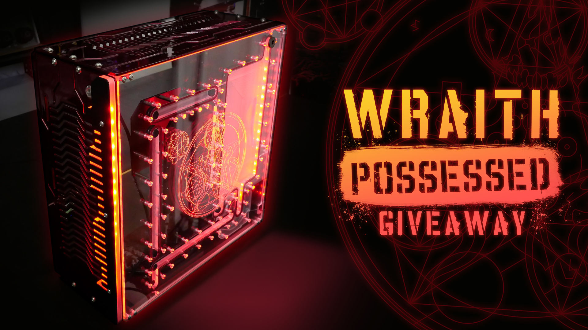 Win a custom Singularity Computers Wraith ITX/DTX Case and two of the new SC Spectrum 2.0 DRGB 30cm LED Strips   Confirmed by Video Youtube Giveaway Image