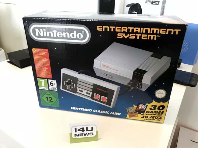 Brand-New Nintendo NES Classic Console Giveaway Image