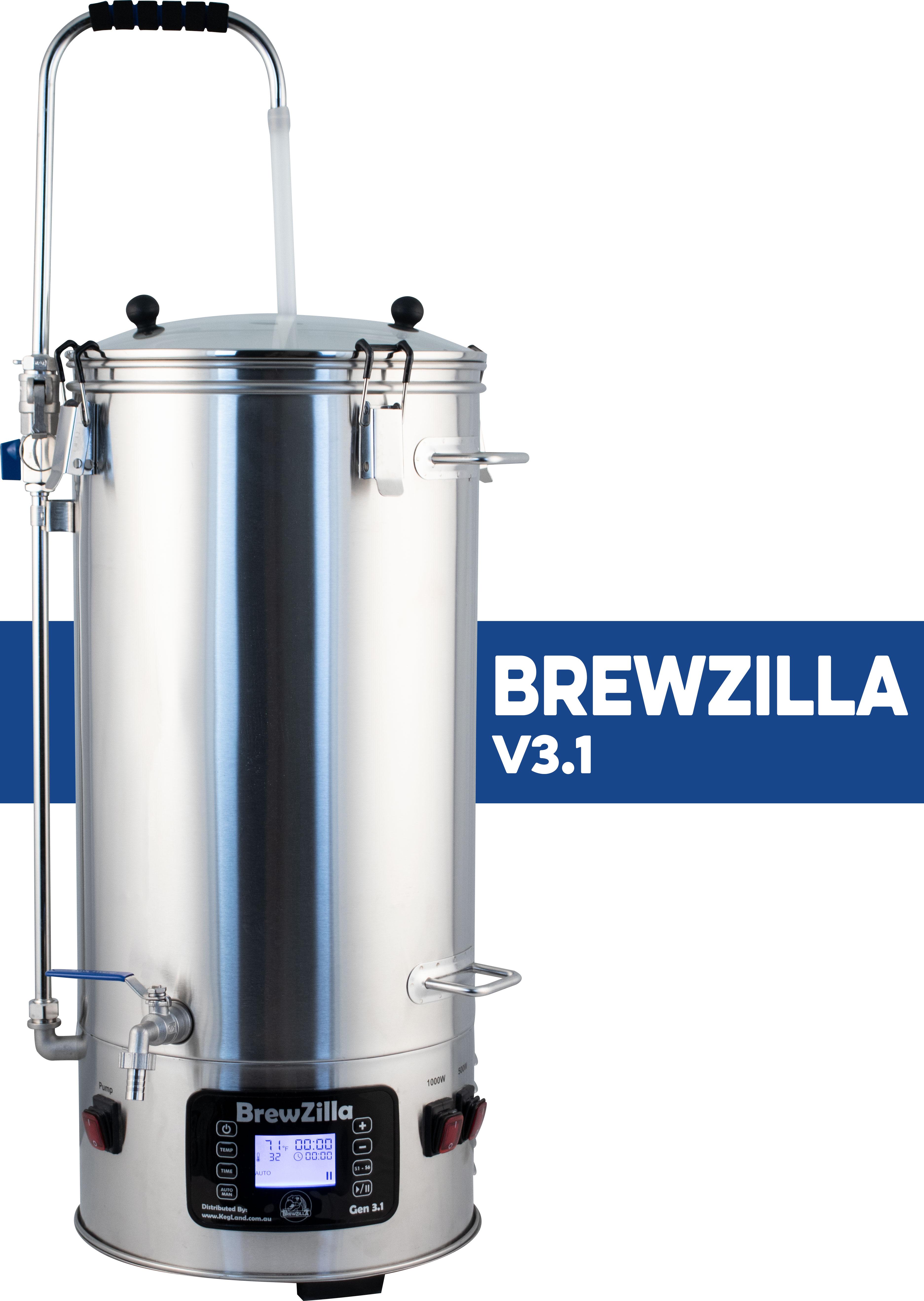MoreBeer! BrewZilla V3.1 All Grain Brewing System Giveaway Giveaway Image