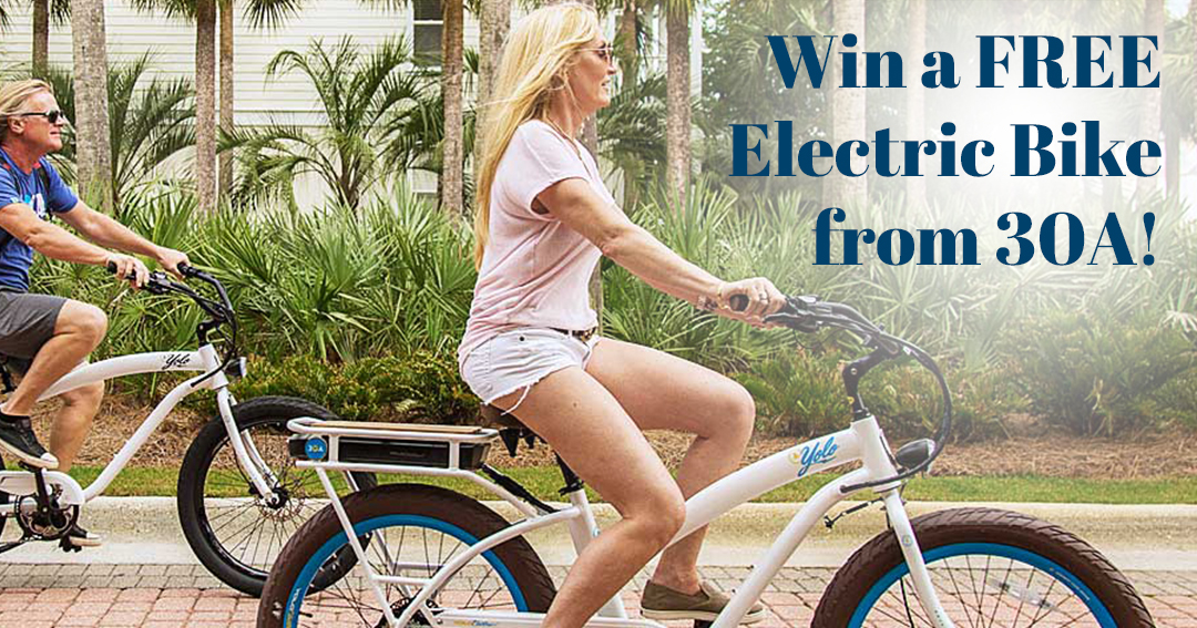 Win a 30A Electric Bike! Giveaway Image