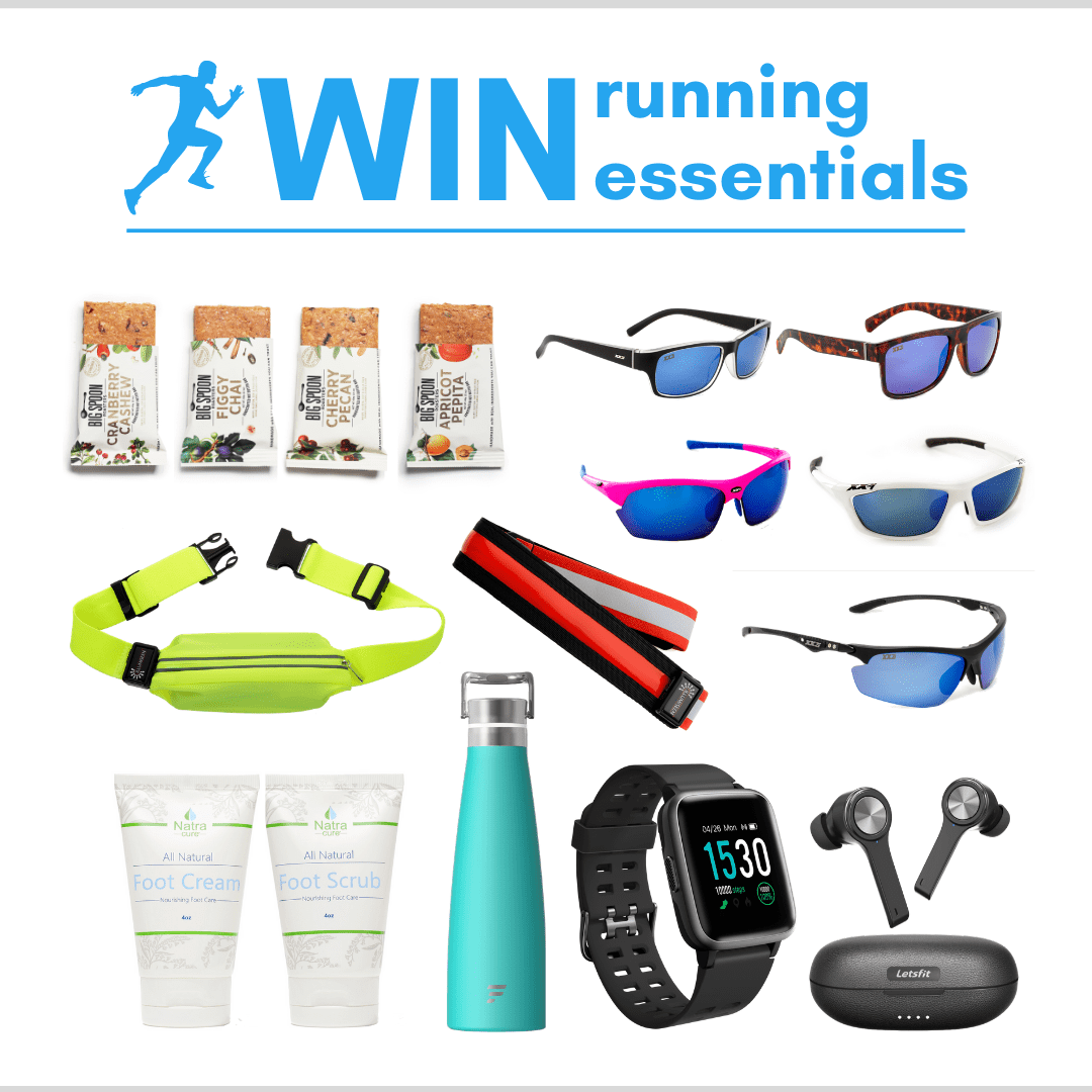 Enter to WIN $700 WORTH OF RUNNING GEAR Giveaway Image