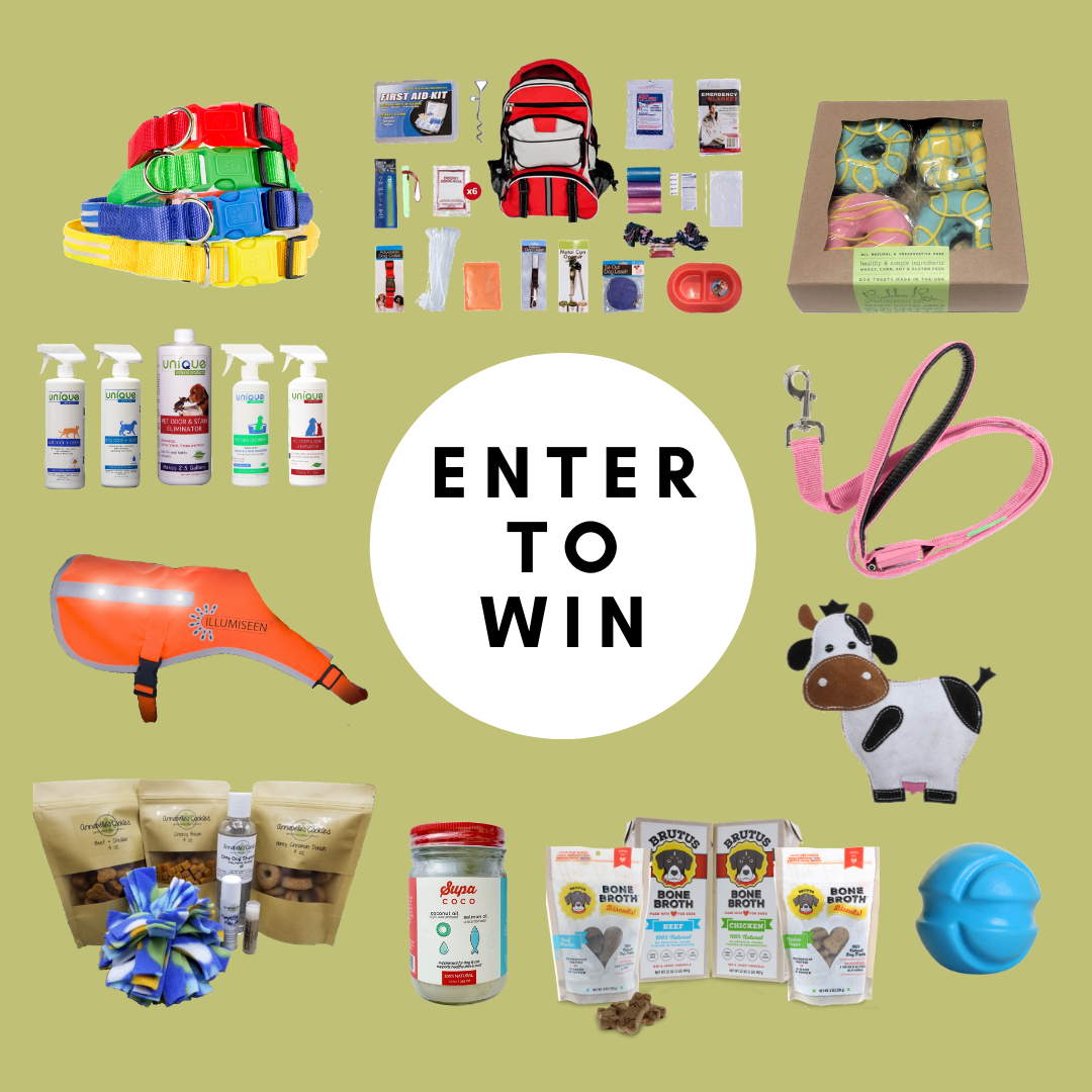 May to June 2020 Dog Stuff Giveaway Giveaway Image