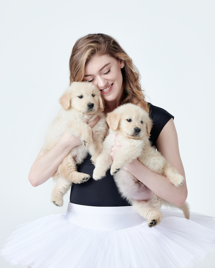 Enter to win a copy of Dancers & Dogs' New Coffee Table Book. Retailing at $49.95! Giveaway Image
