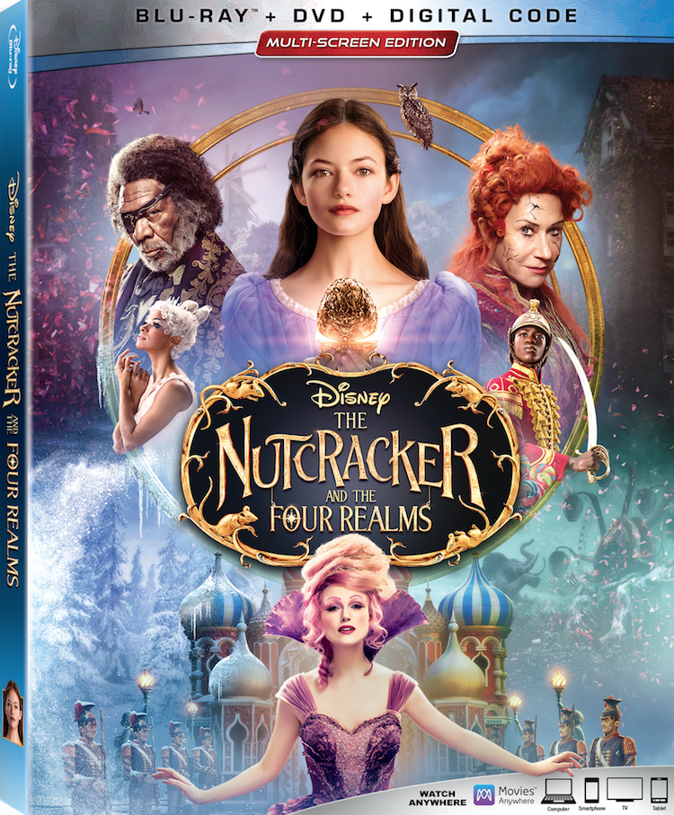 "Enter for a chance to win a Blu-ray/DVD of ""The Nutcracker and the Four Realms"" Giveaway Image"