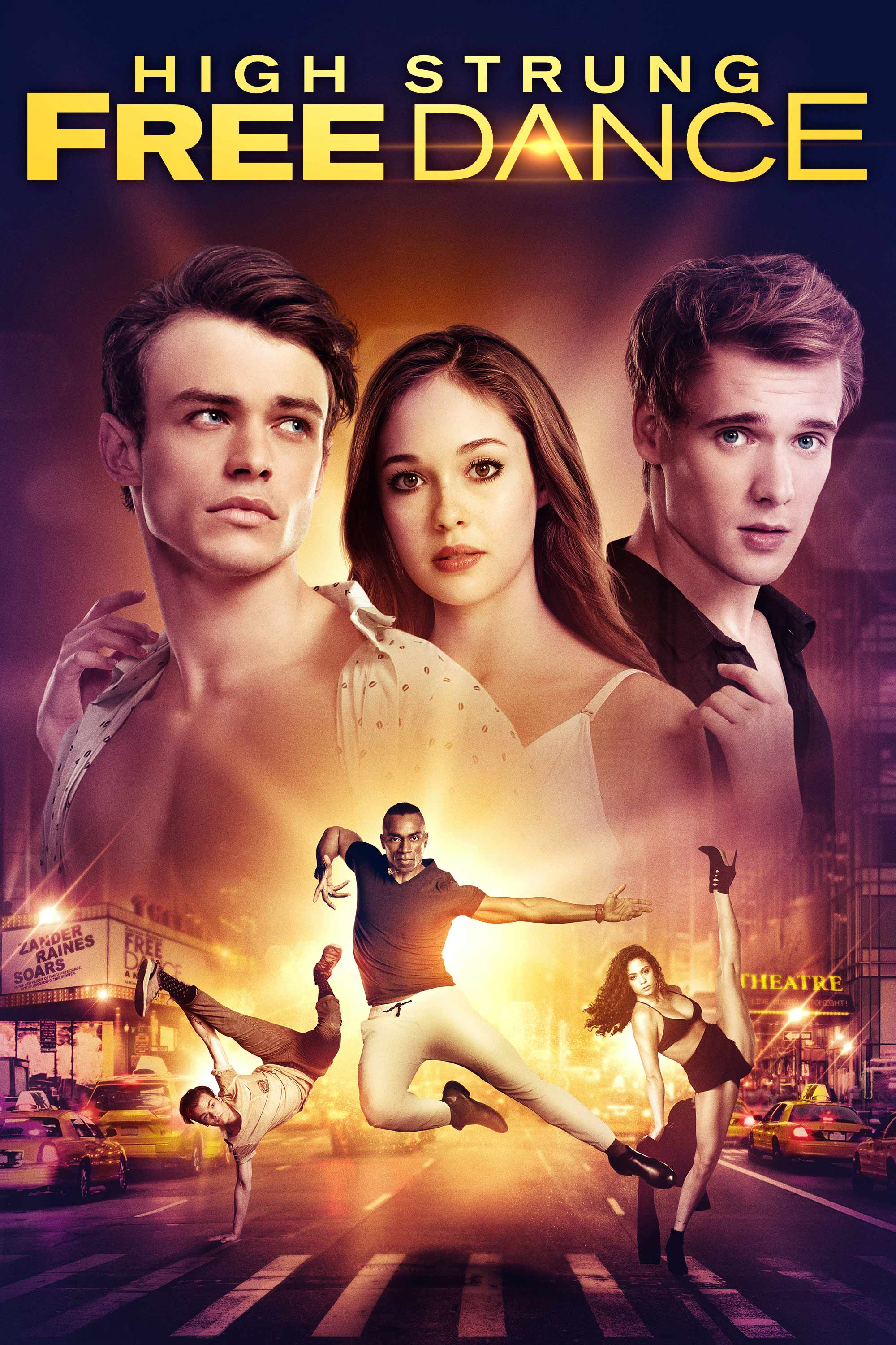 """Enter to win a Blu-Ray copy of """"High Strung Free Dance"""" Giveaway Image"""