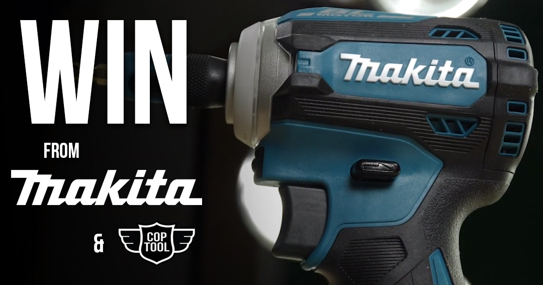 Win the Makita XDT16 with gold drill buts Giveaway Image
