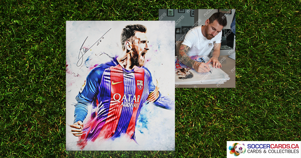Authentic Signed Lionel Messi Photo Giveaway Image