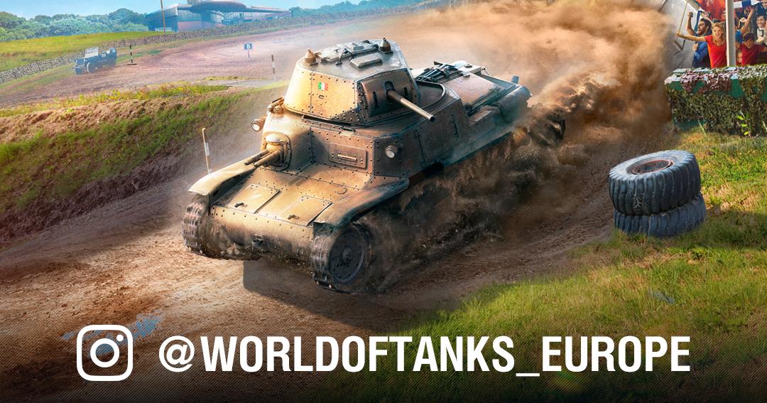 World of Tanks EU Instagram Giveaway