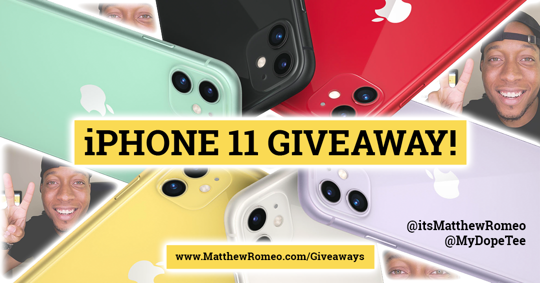 Win a Brand New iPhone 11 (256 GB) + $250 Gift Cards Giveaway Image