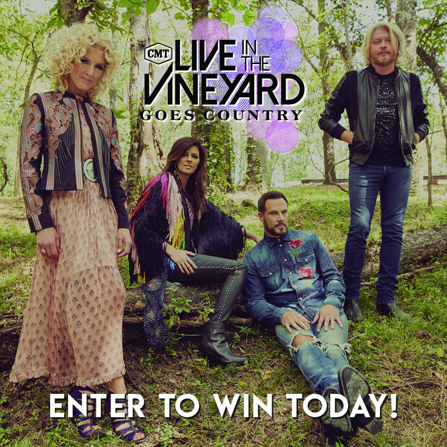 Little Big Town - 2019 Live In The Vineyard Goes Country Sweepstakes Giveaway Image