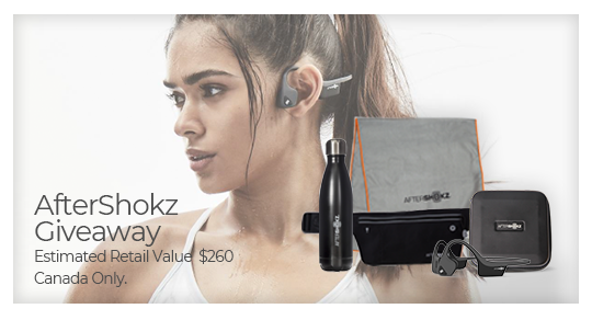 ???? Enter to win 1 of 2 bone conduction headphones and workout gear ???? Giveaway Image