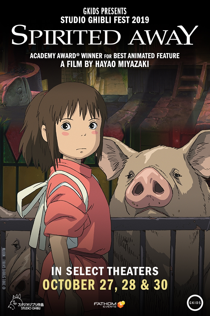 2 Tickets To Spirited Away