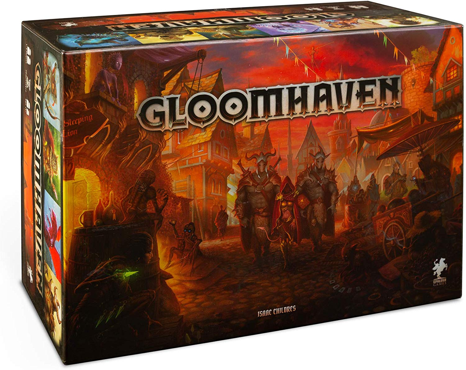 Gloomhaven Board Game Giveaway Giveaway Image