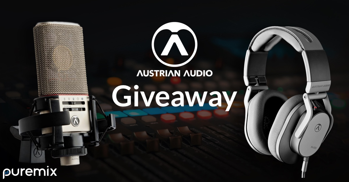 Win an OC818 Microphone or Hi-X55 Headphones From Austrian Audio! Giveaway Image