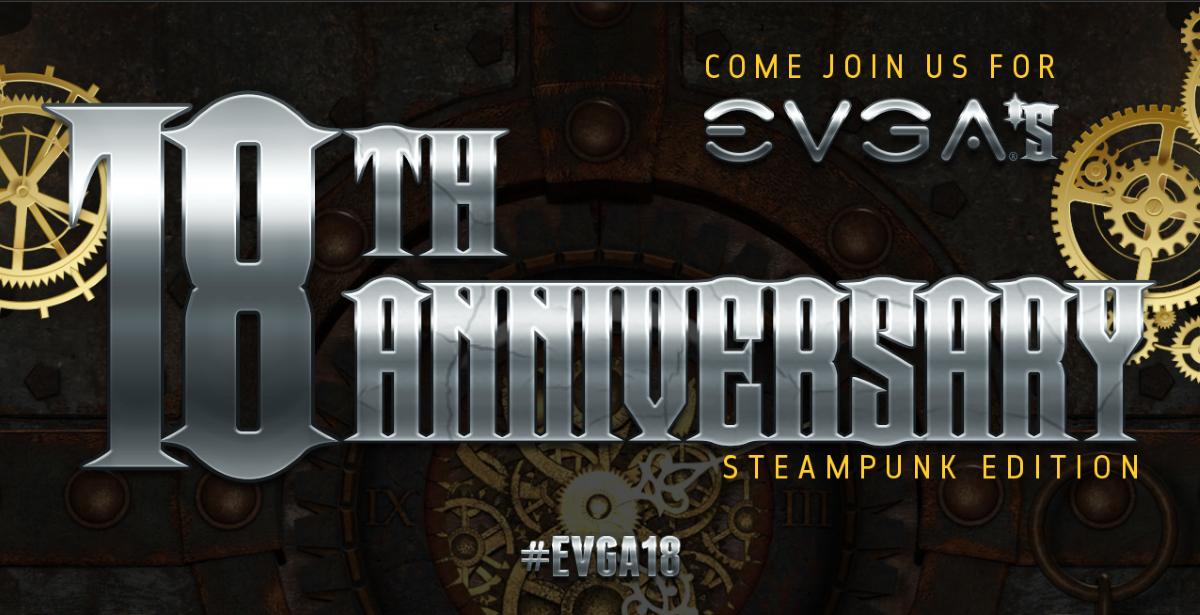 EVGA 18th Anniversary Instagram Event
