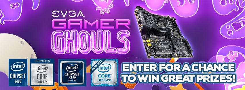 Win PC Components and Peripherals by EVGA (Motherboards, Liquid CPU Cooler, NU Audio Card, Gaming Keyboard) 10 WINNERS Giveaway Image