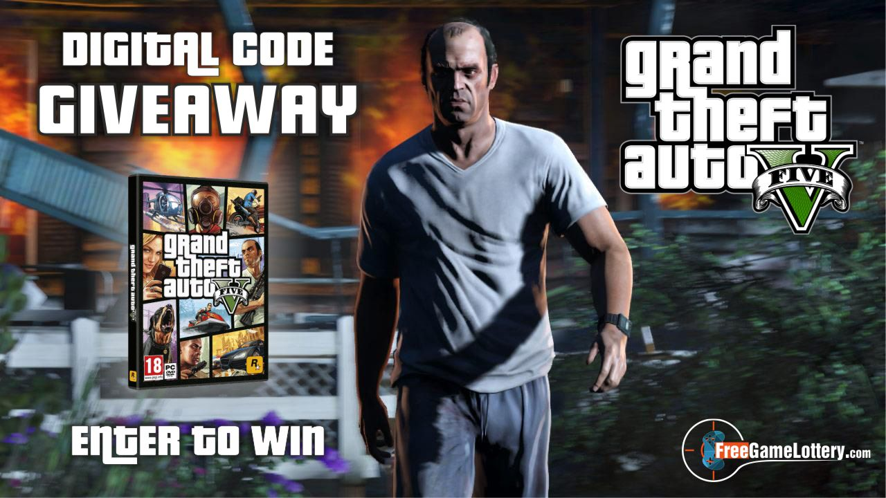 FREE Grand Theft Auto V PC Game code Giveaway   100% OFF Giveaway Image