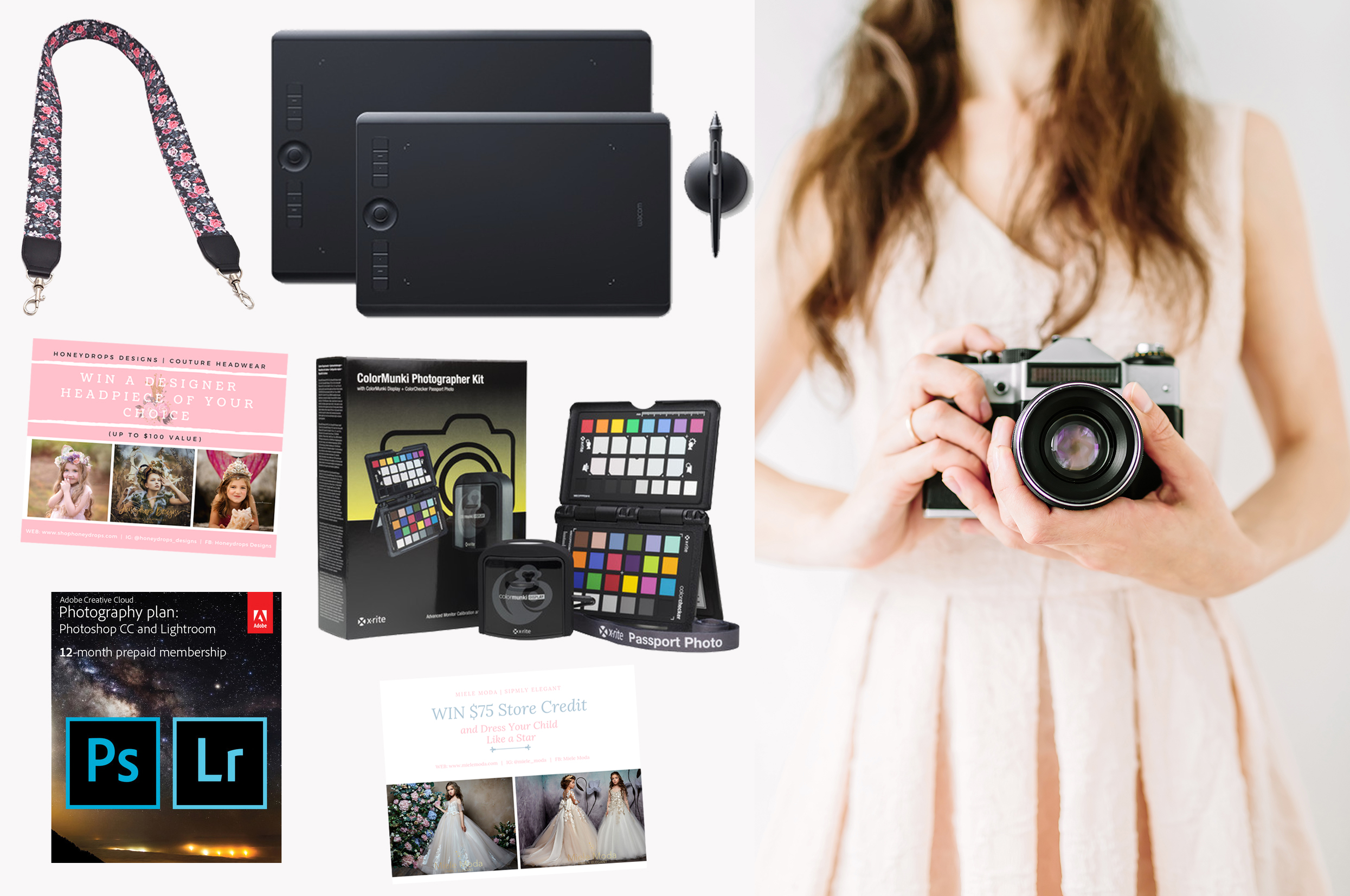 Win A Wacom Intuos Pro Creative Pen Tablet (Medium) � $329.95 value and other great prizes! Giveaway Image