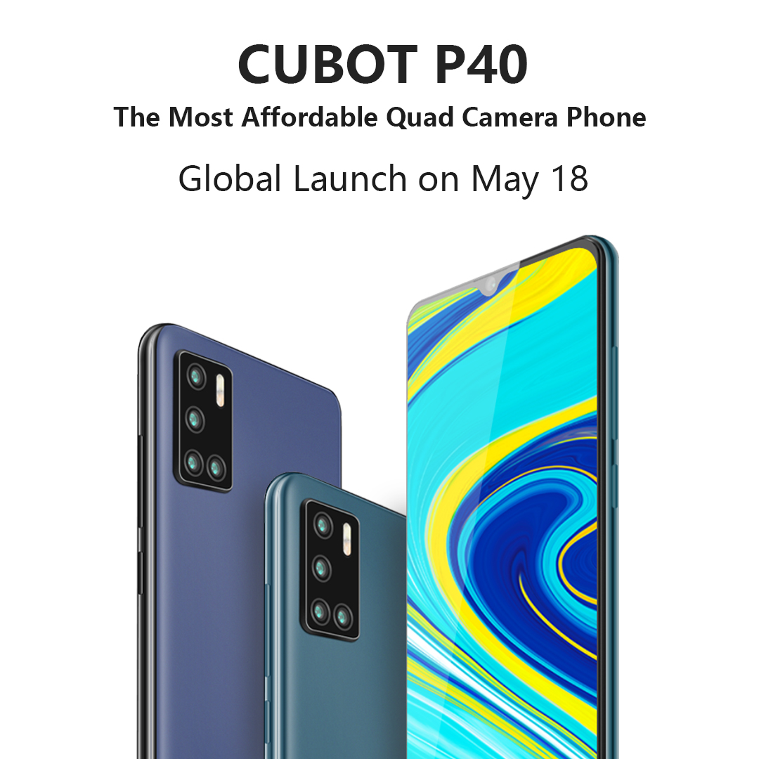 10 winners of Cubot P40 Smartphone - Quad Camera Budget King ($124.99) Giveaway Image