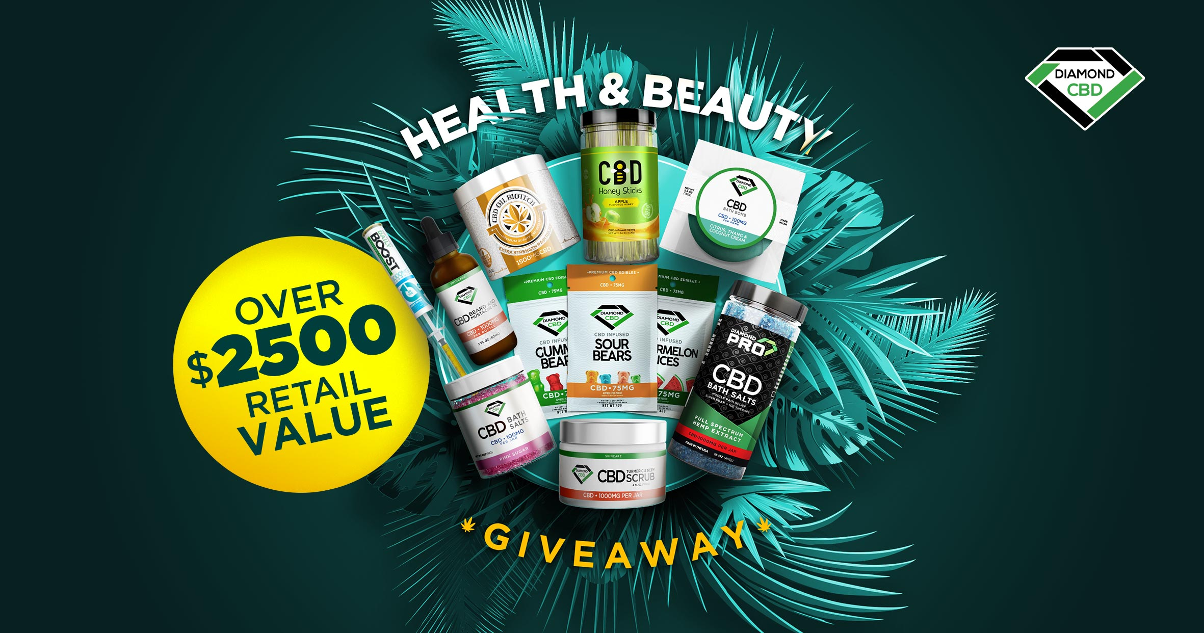 $2500 Health and Beauty Box Giveaway Giveaway Image