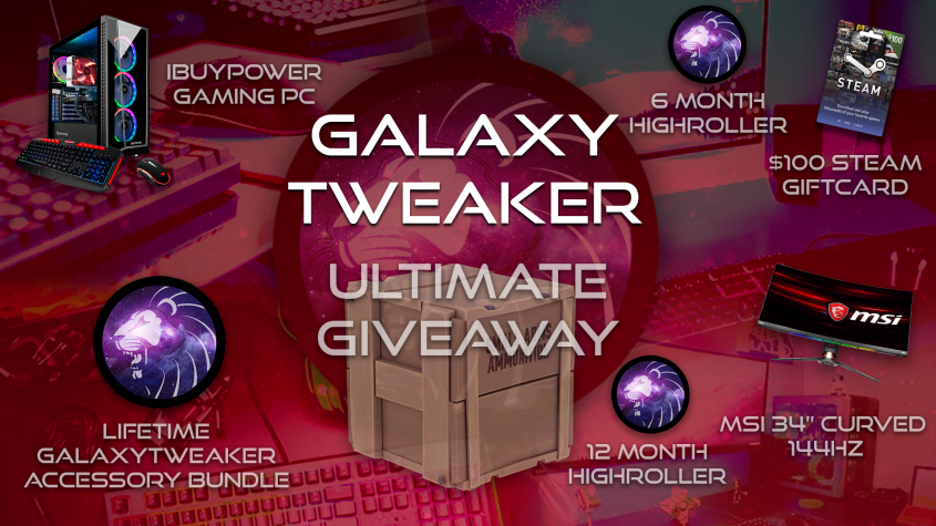 GalaxyTweaker PC Gamer Crate Giveaway