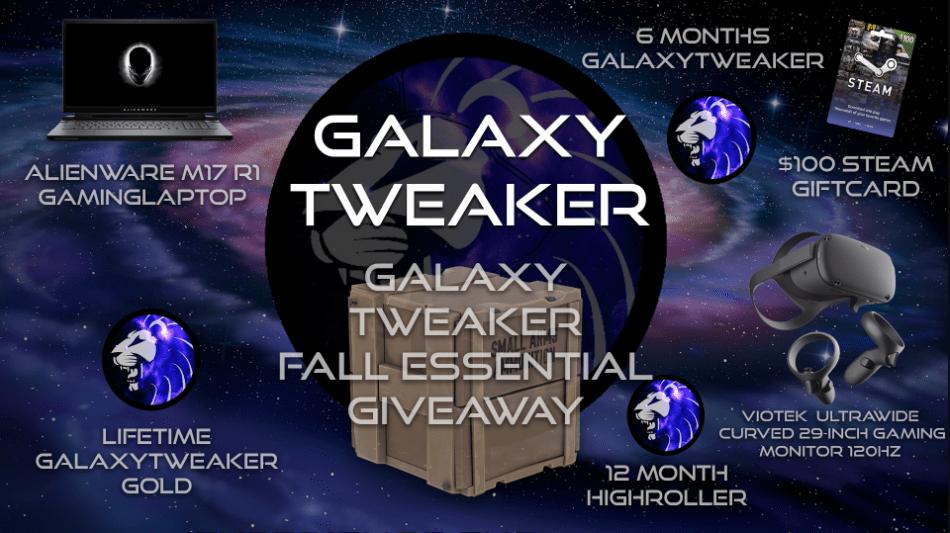 🍁 GalaxyTweaker Fall Essential Giveaway