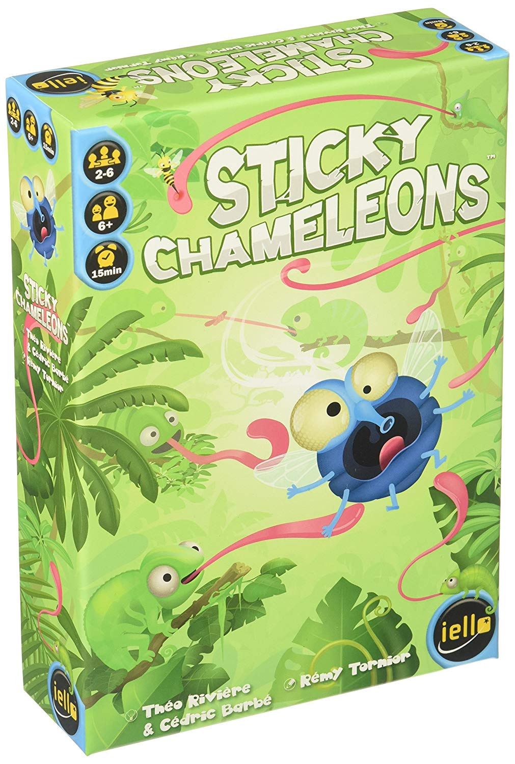 Win the board game Sticky Chameleons Giveaway Image