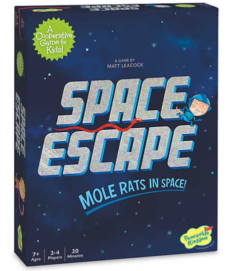 Win the board game Space Escape: Mole Rats in Space Giveaway Image