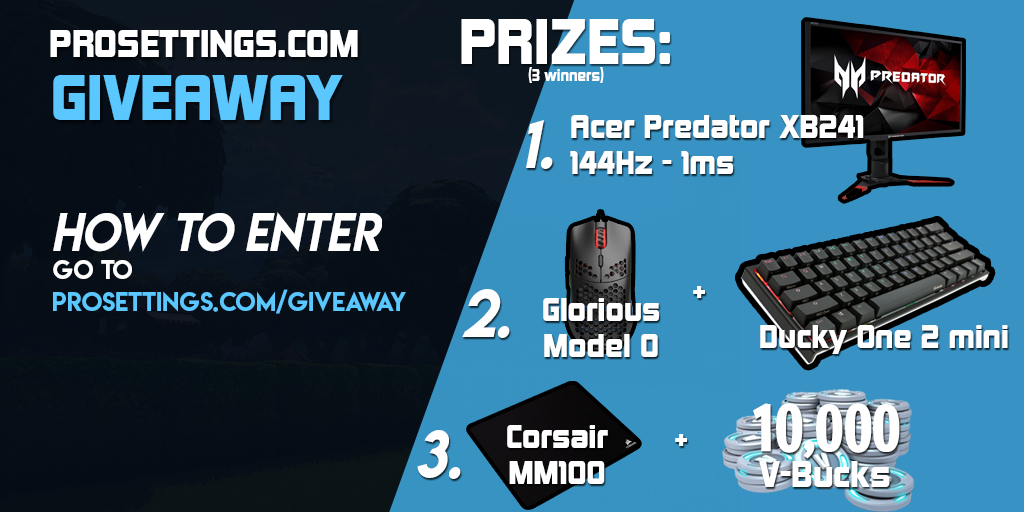 ProSettings.com Winther Giveaway 2019 Giveaway Image