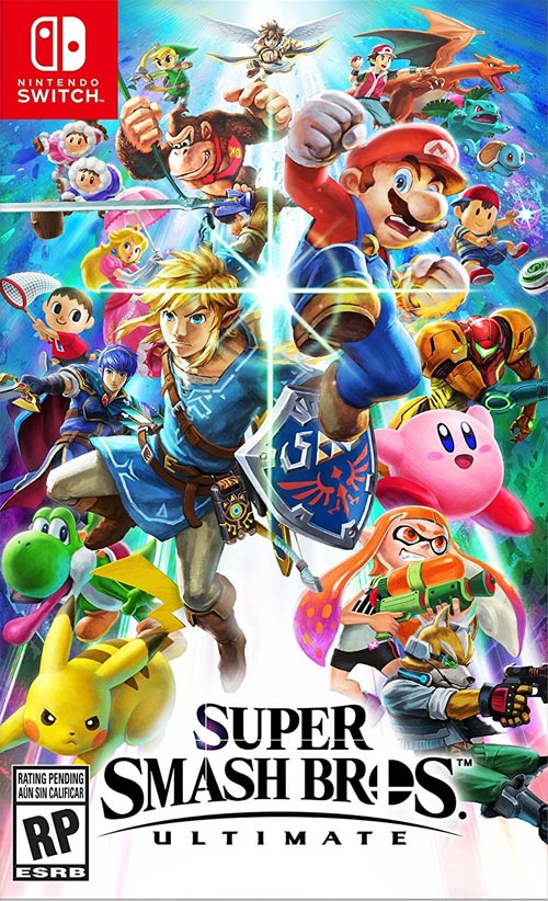 eStarland Super Smash Bros Ultimate Giveaway