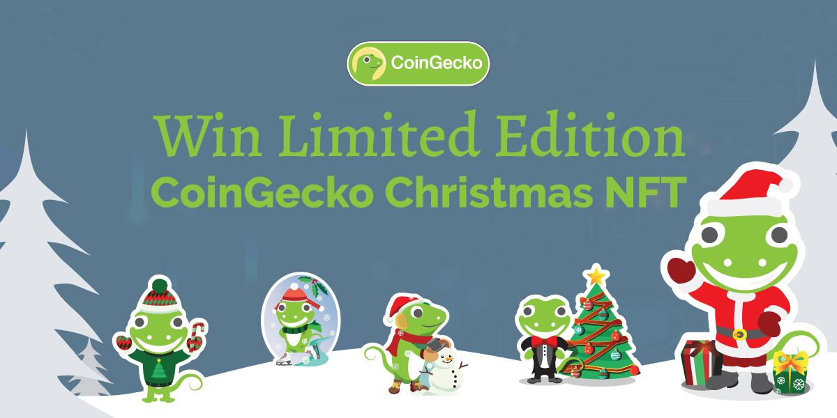 CoinGecko Christmas NFT Giveaway