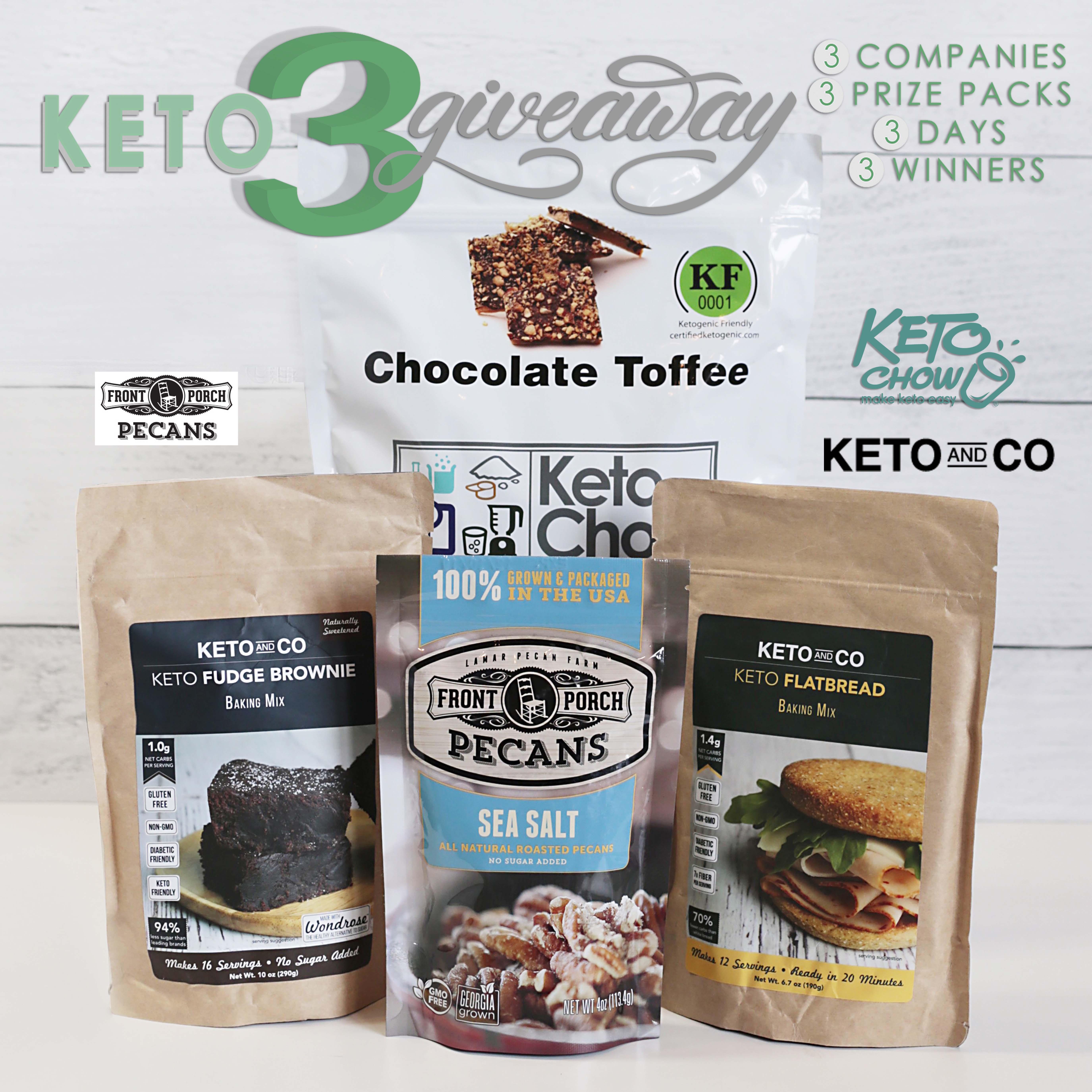 Keto 3 Giveaway May 15-17 Giveaway Image