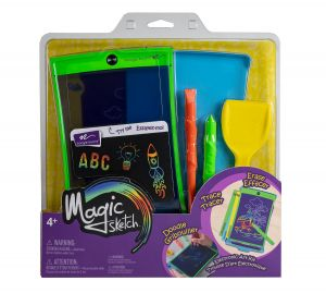 Enter to win a Magic Sketch� Electronic Art Kit from Boogie Board. Write, doodle, and trace in vivid rainbow colors. A $30 Value. Giveaway Image