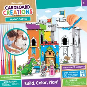 Enter to win Works of Ahhh Cardboard Creations Kits from Mom�s Choice Awards. Valued at $16. Giveaway Image