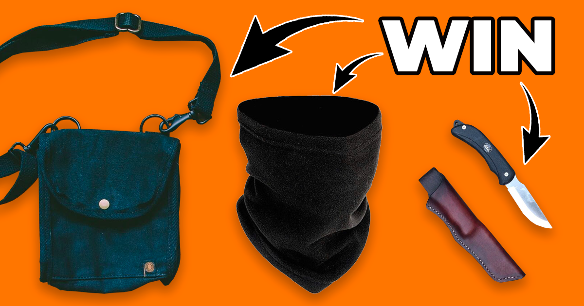 Win an outdoor survival hamper! Giveaway Image