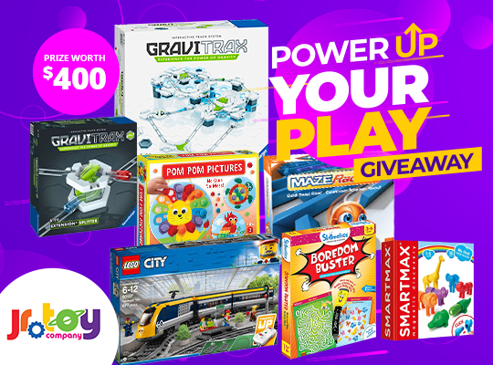 online contests, sweepstakes and giveaways - Power Up Your Play Giveaway