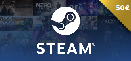 50� Steam Gift Card Giveaway! Giveaway Image