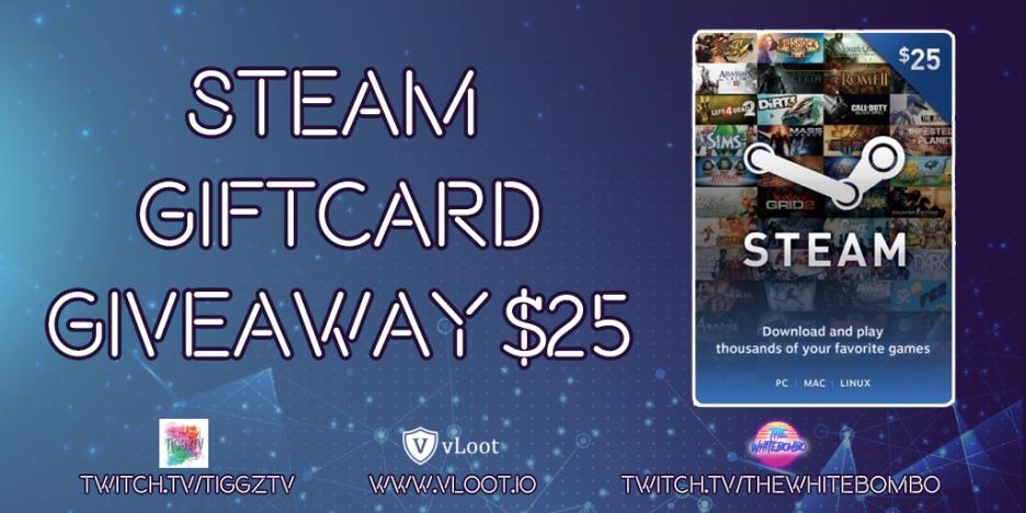 25$ Steam Wallet Code Giveaway!