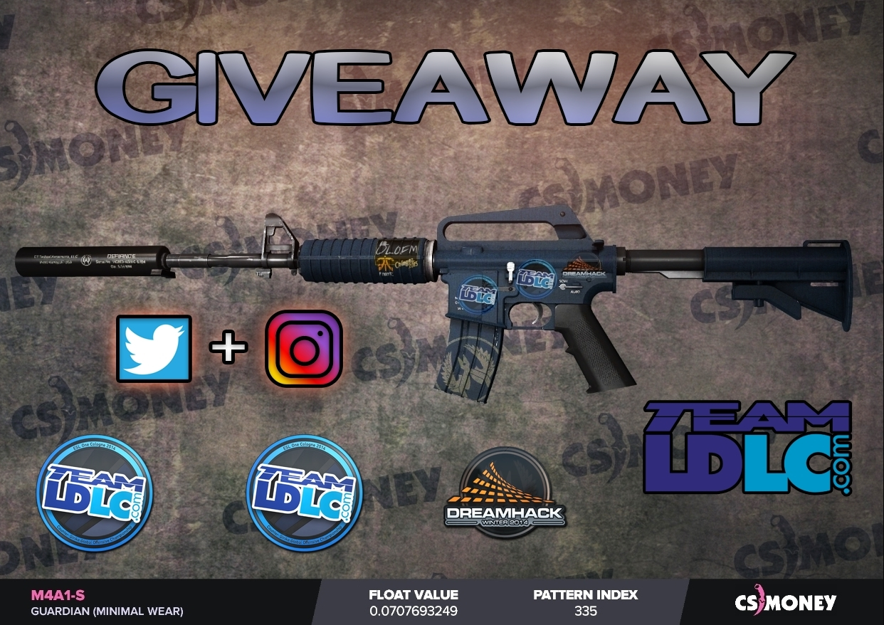M4A1-S   Guardian Giveaway! Giveaway Image