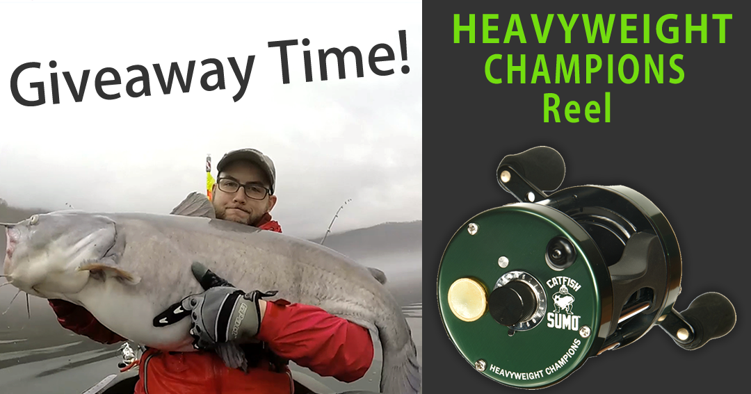 Enter for a chance to win Heavyweight Champions Catfishing Reel by Catfish Sumo Giveaway Image