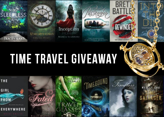 YA Time Travel books giveaway