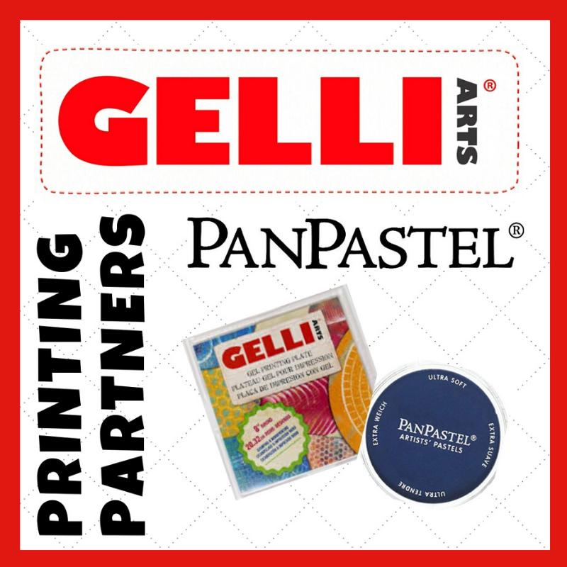 Gelli Arts® + PanPastel® Giveaway!