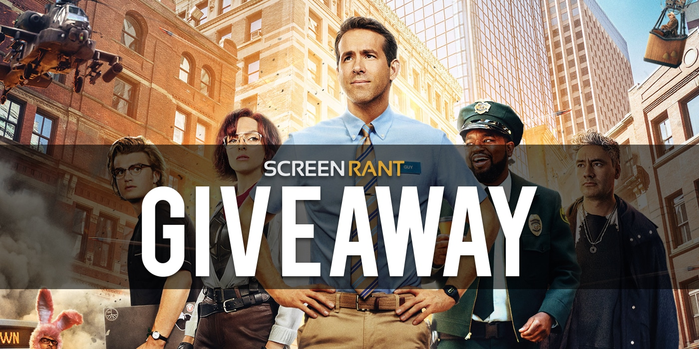 Win Free Guy 4K Ultra HD Signed By Ryan Reynolds! Giveaway Image